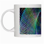 Psychedelic Spiral White Coffee Mug