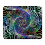 Psychedelic Spiral Large Mouse Pad (Rectangle)