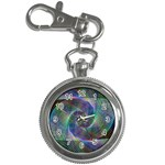 Psychedelic Spiral Key Chain Watch