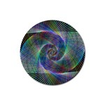 Psychedelic Spiral Drink Coaster (Round)