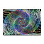 Psychedelic Spiral A4 Sticker