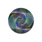 Psychedelic Spiral Magnet 3  (Round)