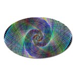 Psychedelic Spiral Magnet (Oval)