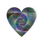 Psychedelic Spiral Magnet (Heart)