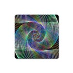 Psychedelic Spiral Magnet (Square)