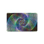 Psychedelic Spiral Magnet (Name Card)