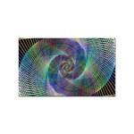 Psychedelic Spiral Sticker 10 Pack (Rectangle)