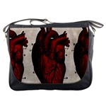 Human Heart Messenger Bag