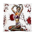 Zombie Pin Up Standard Cushion Case (Two Sides)