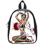 Zombie Pin Up School Bag (Small)