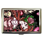 Skull Girl Cigarette Money Case