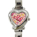 Lots of Love Heart Italian Charm Watch