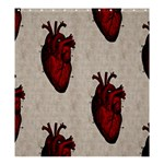 Human Heart Shower Curtain 66  x 72  (Large)