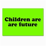 Children are are future postcards (pack of 10)