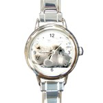 Baby Polar Bear Round Italian Charm Watch