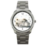 Baby Polar Bear Sport Metal Watch