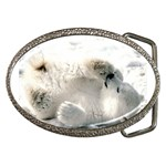 Baby Polar Bear Belt Buckle