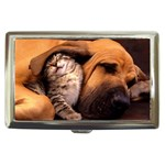 Best Friends Cat and Dog Cigarette Money Case