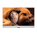 Best Friends Cat and Dog Business Card Holder