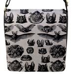 Haeckel Chiroptera Flap Closure Messenger Bag (Small)