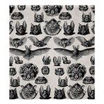 1904 Haeckel Chiroptera Shower Curtain 66  x 72  (Large)