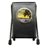 Amelia s Lighthouse -AveHurley ArtRevu.com- Pen Holder Desk Clock