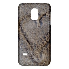 Heart In The Sand Samsung Galaxy S5 Mini Hardshell Case  by yoursparklingshop