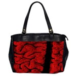 The Vintage Brain Oversize Office Handbag (Two Sides)