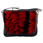 The Vintage Brain Messenger Bag