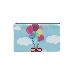 Balloons Cosmetic Bag (small) by Kathrinlegg