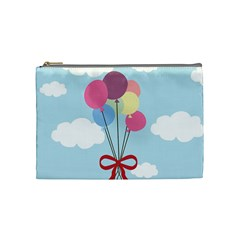 Balloons Cosmetic Bag (medium) by Kathrinlegg