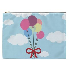 Balloons Cosmetic Bag (xxl) by Kathrinlegg