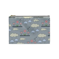 Garden In The Sky Cosmetic Bag (medium) by Kathrinlegg