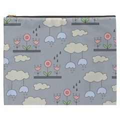 Garden In The Sky Cosmetic Bag (xxxl) by Kathrinlegg