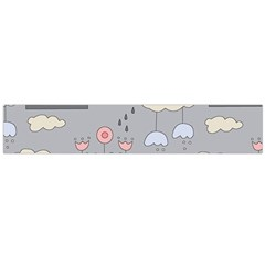 Garden In The Sky Flano Scarf (large) by Kathrinlegg