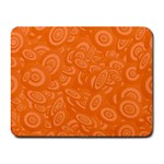 Orange Abstract 45s Small Mouse Pad (Rectangle)