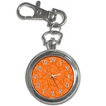 Orange Abstract 45s Key Chain Watch