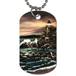 Kerry s Lighthouse -  Ave Hurley   - Dog Tag (One Side)