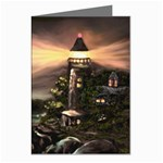 Kerry s Lighthouse -  Ave Hurley   - Greeting Card