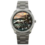 Kerry s Lighthouse -  Ave Hurley   - Sport Metal Watch