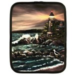Kerry s Lighthouse - Ave Hurley - Netbook Case (XL)