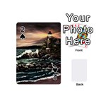 Kerry s Lighthouse -  Ave Hurley   - Playing Cards 54 (Mini)
