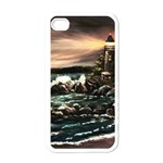 Kerry s Lighthouse -  Ave Hurley   - Apple iPhone 4 Case (White)