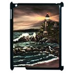 Kerry s Lighthouse -  Ave Hurley   - Apple iPad 2 Case (Black)