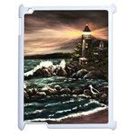 Kerry s Lighthouse -  Ave Hurley   - Apple iPad 2 Case (White)