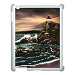 Kerry s Lighthouse -  Ave Hurley   - Apple iPad 3/4 Case (White)