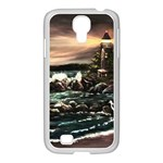 Kerry s Lighthouse -  Ave Hurley   - Samsung GALAXY S4 I9500/ I9505 Case (White)