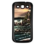 Kerry s Lighthouse -  Ave Hurley   - Samsung Galaxy S3 Back Case (Black)