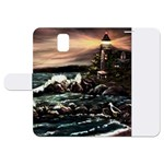 Kerry s Lighthouse -  Ave Hurley   - Samsung Galaxy Note 3 Leather Folio Case
