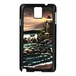 Kerry s Lighthouse -  Ave Hurley   - Samsung Galaxy Note 3 N9005 Case (Black)